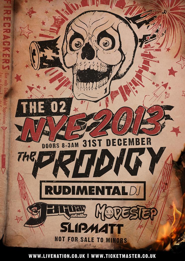 The Prodigy – NYE 2013